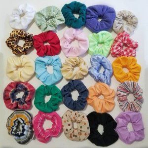 5 for $10 Limited Scrunchies